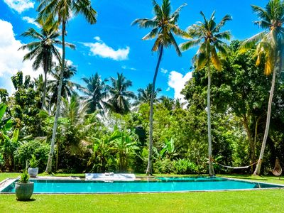 Photo for Luxury colonial-style Villa with 45ft pool, private chef and spacious garden