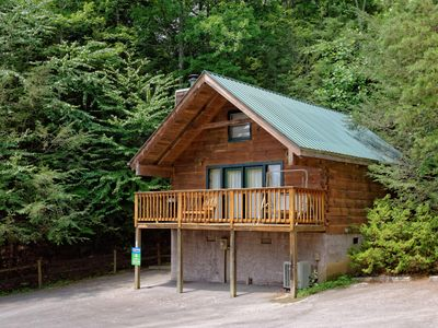 Photo for Beautiful Log Cabin Only 5 Minutes from Downtown Gatlinburg Walk to the Park!