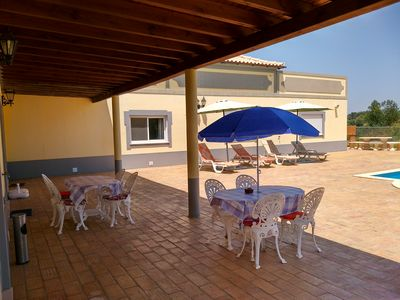 Photo for Beautiful Villa With Heated Private Pool, Large Terrace And Lawn