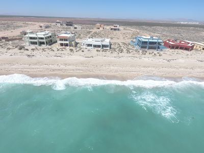 Photo for Ocean Front Family Fun House.  Pet friendly, Air conditioned Sand beach