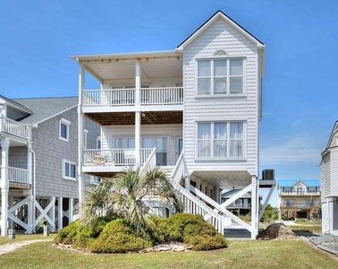 Photo for Beautiful 5 BR/3.5 BA, Ocean View Home- Across the Street From The Beach-Sleeps 14