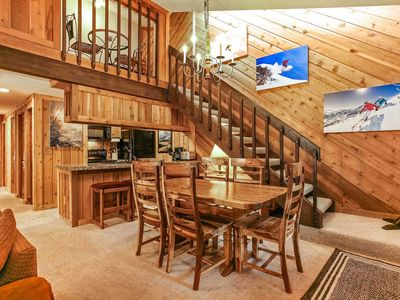 Photo for Short Walk to Bus Stop For Easy Mountain Access, Hot Tub, Seasonal Pool & Parking, East Vail Condo!