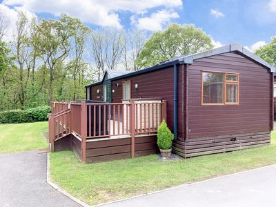 Photo for Willow Lodge  is set within 130 acres of woodland on 5*Finlake Holiday Park