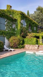 Photo for A rustic villa on the beautiful nature reserve of Cannes