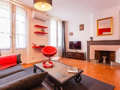 Photo for 1 Bedroom Flat in the Historial Cente With Wifi, Air Conditionning / 1 to 5 Peop