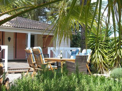 Photo for Cozy holidayhome with nice veranda and garden, 3.5 km from Gassin