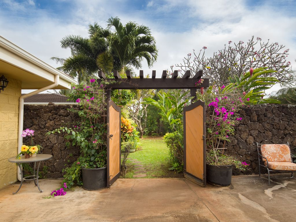 private and serene 4 a c bedrooms sunny homeaway poipu
