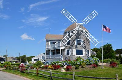 THE WINDMILL ON CAPE COD