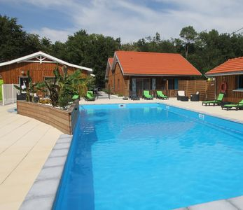 Photo for Superb villa eco-nature T2 2/5 people Garden Pool View Jacuzzi