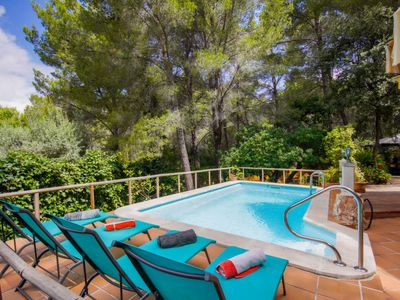 Photo for Vacation home Port des Canonge Sard in Banyalbufar - 8 persons, 5 bedrooms