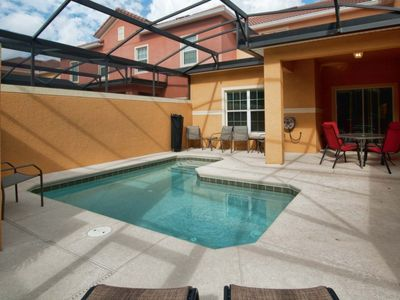 Photo for RESORT COMMUNITY, TOWNHOME, PRIVATE POOL, FREE WIFI, CLOSE TO THEME PARKS!