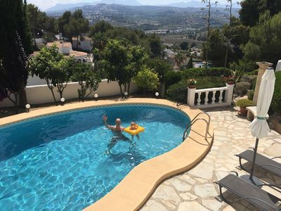 Photo for Beautiful detached villa in Moraira with own pool!
