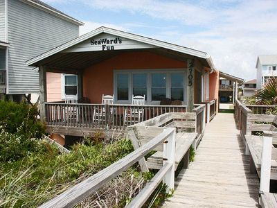 Photo for Seaward's Fun: 3 BR / 1 BA home in Oak Island, Sleeps 7