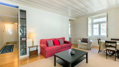 Photo for Garrett apartment in Baixa/Chiado with WiFi & lift.