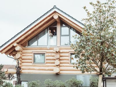 Photo for Log cabin holiday at the German Weintor Ap2