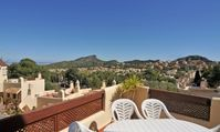 A lovely homely villa with stunning views, a very short walk to the pool and fantastic pool bar.