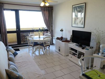 Photo for Nice duplex apartment type 2 with full ocean view