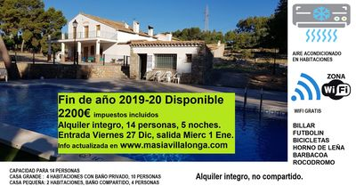 Photo for Self catering Masia Villalonga for 10 people