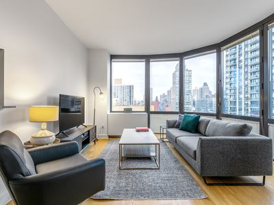 Photo for Bright UES 2BR w/ Pool, Gym, Garden, nr. Chelsea Market, by Blueground