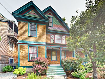 Exterior - Welcome to Bar Harbor! This dreamy Victorian home is professionally managed by TurnKey Vacation Rentals.