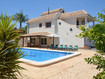 Photo for Luxury Villa with private pool, with 5 bedrooms, 4 bathrooms, 2 kitchens