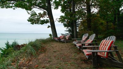 Photo for Cozy Lake Michigan cottage tucked in the woods