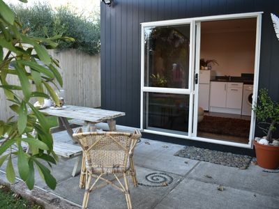 Photo for Beach front Self-contained Studio - pet friendly - no cleaning fee