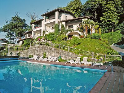 Photo for One bedroom Apartment, sleeps 3 in Piazzogna with Pool and WiFi