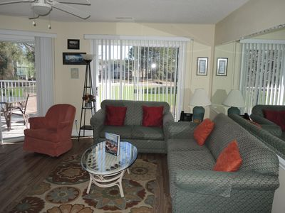 Photo for 2 Bedroom/ 2 Bath Condo with 4 Beds and a sleeper sofa.  Perfect for Golfers and Families!