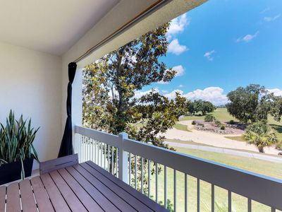 Photo for NEW LISTING! Well-located condo w/shared pool & hot tub, near Disney World!