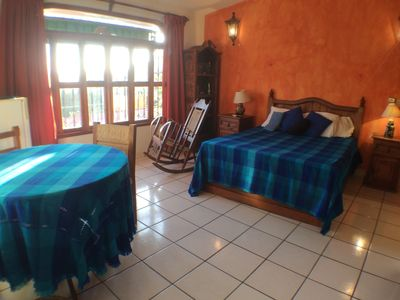 Photo for Spacious room 2 blocks from Playa La Ropa Zihuatanejo