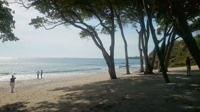 Photo for Spectacular Ocean Front Condo on private beach in Bolongo, Punta Mita