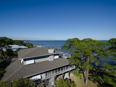 Photo for 4,099 sq. ft house set on 5 acres, a true getaway! - BAYSIDE