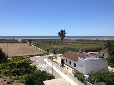 Photo for Beachfront villa in the Ebro Delta