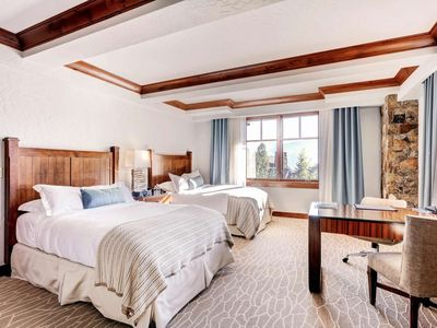 Photo for Professionally Cleaned Ski-in/out Private Double Room inside the Ritz BG