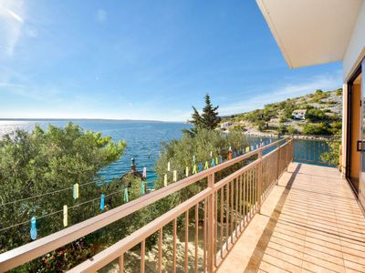 Photo for 4 bedroom Apartment, sleeps 8 in Tribanj-Krušćica with Air Con and WiFi