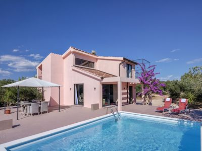 Photo for Comfortable Villa with Swimming Pool set in it's own Olive Grove