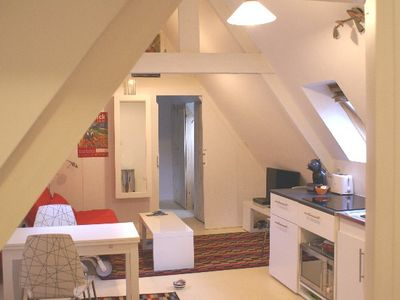 Photo for charming apartment for 2 ideally located in the heart of old Paimpol
