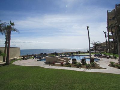 Photo for Los Olas Oceanfront, 3 Bedroom Ground Level End Unit