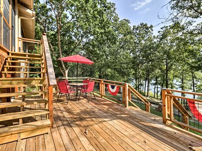 Photo for Waterfront Home on Lake Sherwood w/ Dock & Deck!