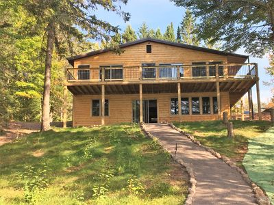 Photo for Beautiful Northwoods Cabin on Long Lake