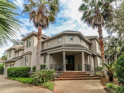 Beautiful & Spacious Third Row Ocean Sea Pines Home with Private Pool & Spa