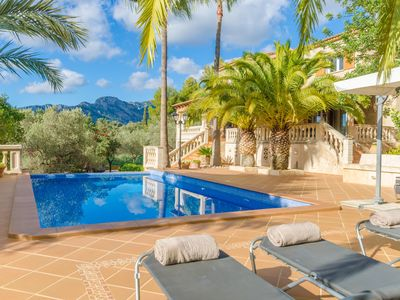 Photo for CAN JORDI - Villa with private pool in BUNYOLA.