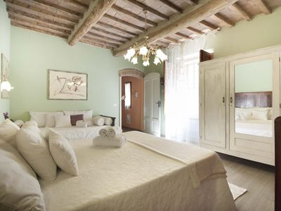 Photo for The house is located in the heart of Tuscany, in the historic center of San Gimignano.