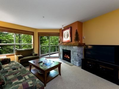 Photo for Prime Ski-in Ski-out Location! Pool, Hot tubs, BBQ, sleeps 4 (222)