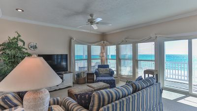 Photo for Gulf Front Condo at Sugar Dunes ~ Panoramic Views and Beach Access ~ Close to Exciting Beach Communities!