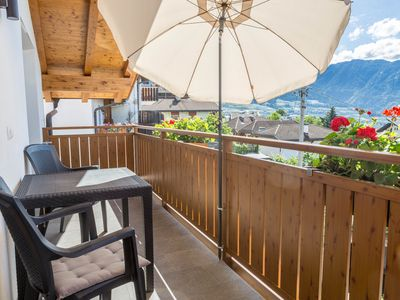 """Photo for Beautiful Apartment """"Ferienwohnung Typ B"""" with South Balcony with a Wonderful View over the Mountains, Wi-Fi; Parking Available"""