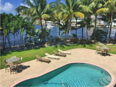 Photo for BREATHTAKING INTRACOASTAL POINT PROPERTY. DISCOUNTED SEASONAL RATES!