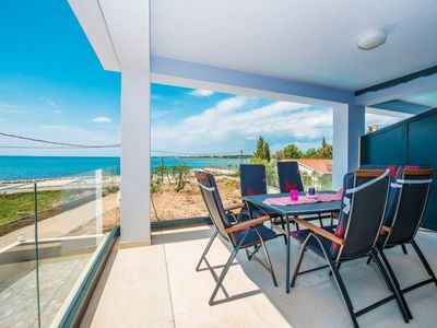 Photo for Apartment Sunny by the Sea  A4(4+3)  - Zaton (Zadar), Zadar riviera, Croatia