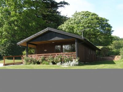 Photo for Four star wheelchair accessible Lodge with three bedrooms and two bathrooms, fabulous views yet clos